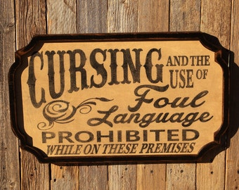 Michigan Man Cave Signs : Old west saloon sign boyfriend gift man cave husband