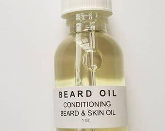 Beard Oil, Skin Oil, Conditioning Oil, Beard and Skin Oil, Beard, Skin, Moisture, Dry Patch Oil, Split End Oil