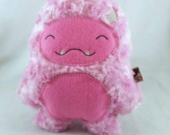 Pink Ludo Plush - Sasquatch Plush - Big Foot