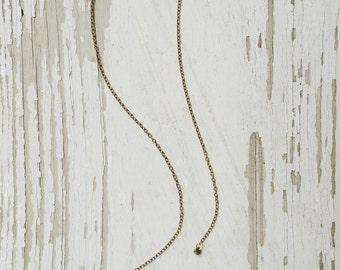 pyr - golden pyrite bolo necklace