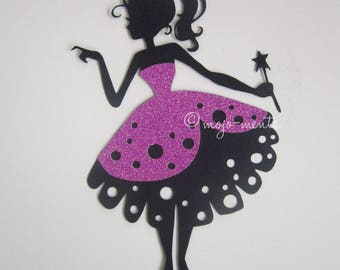 Princess Die Cuts - Pack of 3 - Assembled and Ready To add Straight On To Your Projects