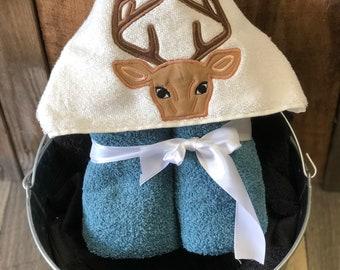 Hooded Towel Deer
