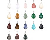 20 Pieces Oval Teardrop W...