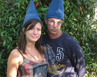 GNOME HAT GARDEN Gnome Blue Adult sizes Fleece