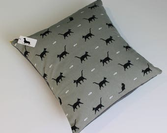 Handmade Cat Cushion Covers | Designer Fabric by Sophie Allport | Available in a variety of sizes