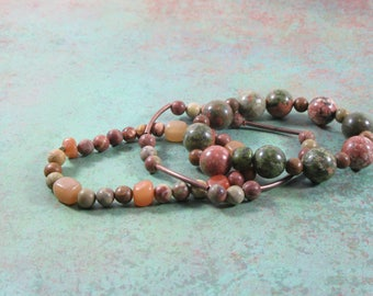 Earth Tones- Bracelet Set