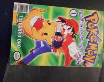 Pokemon - The Electric Tale of Pikachu Comic Issue 1