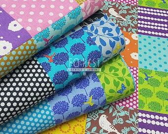 Echino standard 2017 cotton linen Japanese Fabric - story 50cm