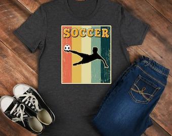 Soccer Retro Shirt/ Shirt / Tank Top / Hoodie / Retro Shirt / Vintage Shirt / Retro Tee / Retro Outfits / Retro Clothes