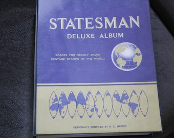 Statesman Deluxe Stamp Album