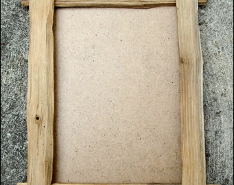 handmade chestnut wood frame
