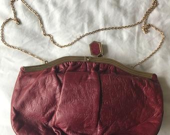 Fuchsia Vintage Clutch
