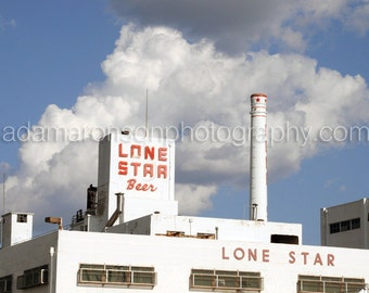 Photograph of Lone Star Beer Brewery in San Antonio, Texas