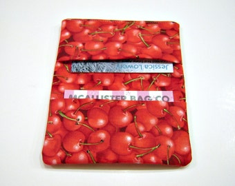 Cherries Card Holder Wallet
