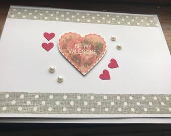 Valentines card, Valentine's Day card, valetines card wife, valetines card mum, valentines card for her, love card, card valetine