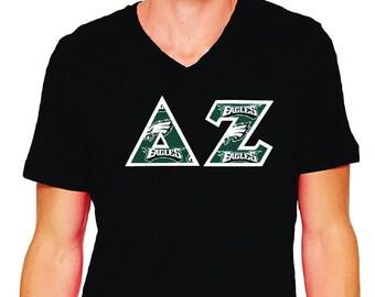 Philadelphia Eagles  Sorority Fraternity Greek Letter Shirt