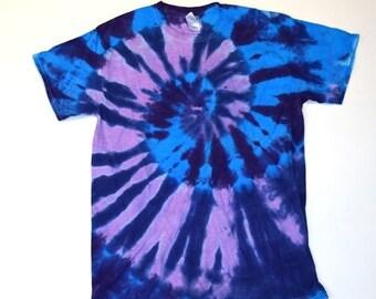 Pure Fun ~ Spiral Tie Dye T-Shirt (Gildan Ultra Cotton Size M) (One of a Kind)
