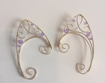 Purple elf ears
