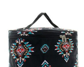 Southern Tribal Cosmetic Case w/ Monogram Option