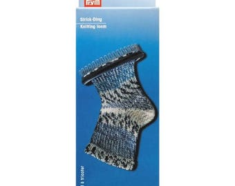 Machine knit socks