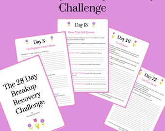 The 28 Day Breakup Recovery Challenge