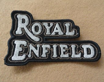 Royal Enfield Motorcycle  Patch - FREE Shipping