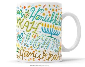 Jewish Holiday Hanukkah Mug Gifts Under 30 Hanukkah Gift Hanukkah Cup Hanukkah Theme Hanukkah Present Jewish Mug Jewish Gift Jewish Mom