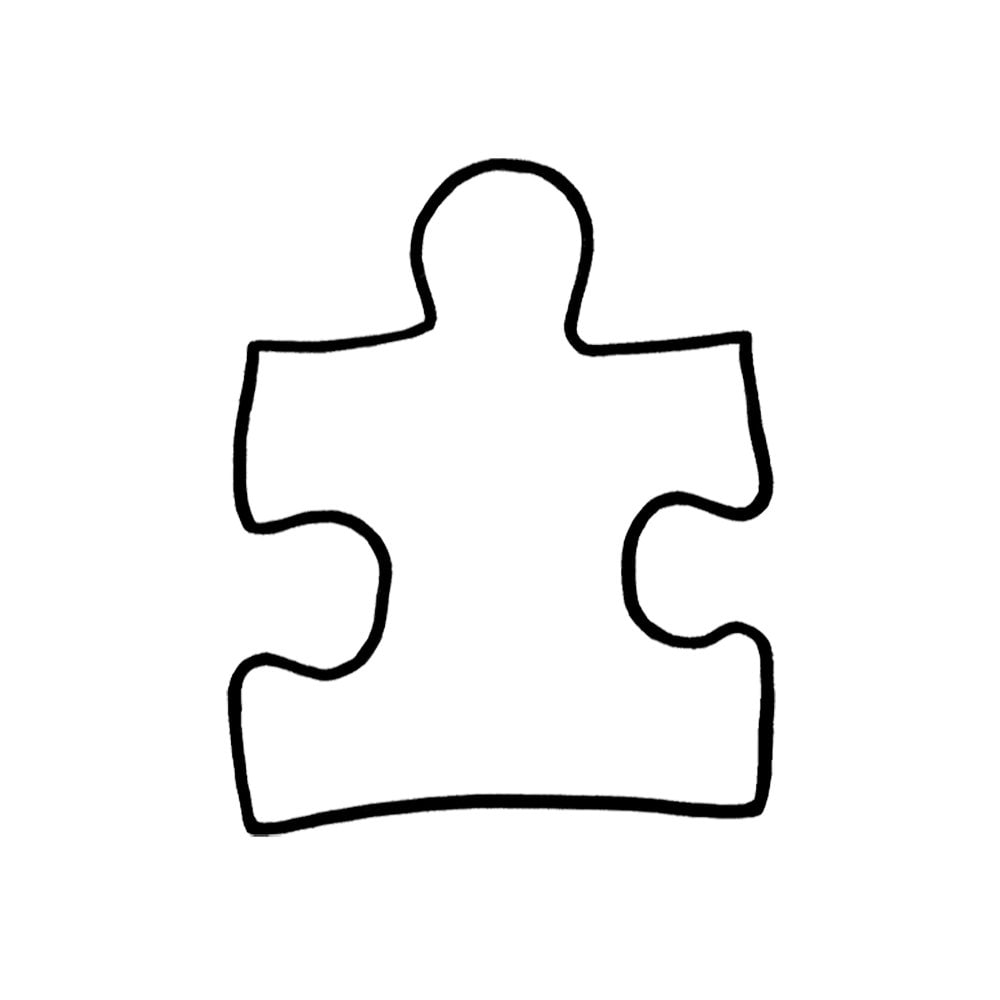 Puzzle piece autism symbol autism support symbol two style options 650 buycottarizona Image collections