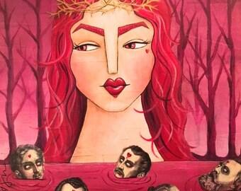 Off With Their Heads! Imprimé de la Reine Rouge
