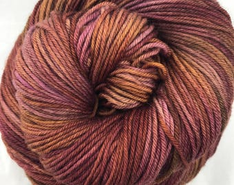 Home Is Where The Hearth Is - Superwash Blue Faced Leicester DK 100g