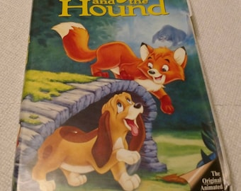 The Fox and the Hound Walt Disney VHS