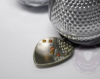 Constellation necklace, Ursa-major necklace, Star necklace, zodiac necklace, nickel silver guitar pick necklace