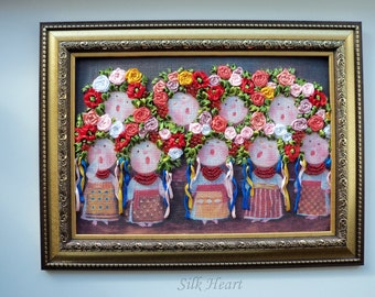 Little Girl Ukrainian Choir