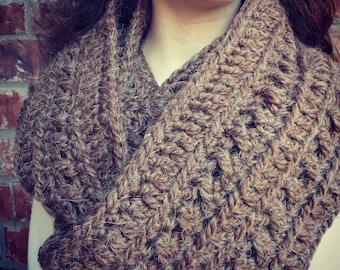 Aspen Infinity Scarf Crochet Pattern
