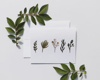Leaves Any Occasion Greeting Card