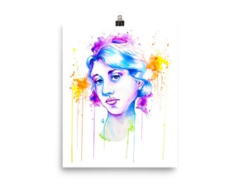 LGBT+Heroes Series: Virginia Woolf Poster