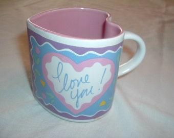 "Vintage Figi Graphics ""Wild At Heart"" Collection Mug/Cup"