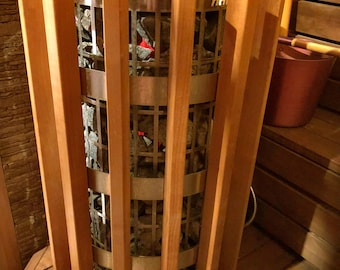 Safeshield for sauna heater