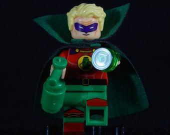 Alan Scott Minifig DC Comics Green Lantern Sentinel Justice Society Building Block Toy