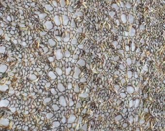 SALE! Seashell Throw Afghan