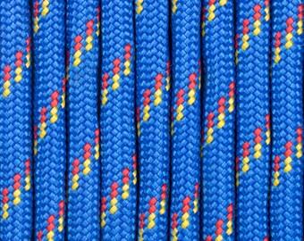 1 meter of 5mm blue climbing rope