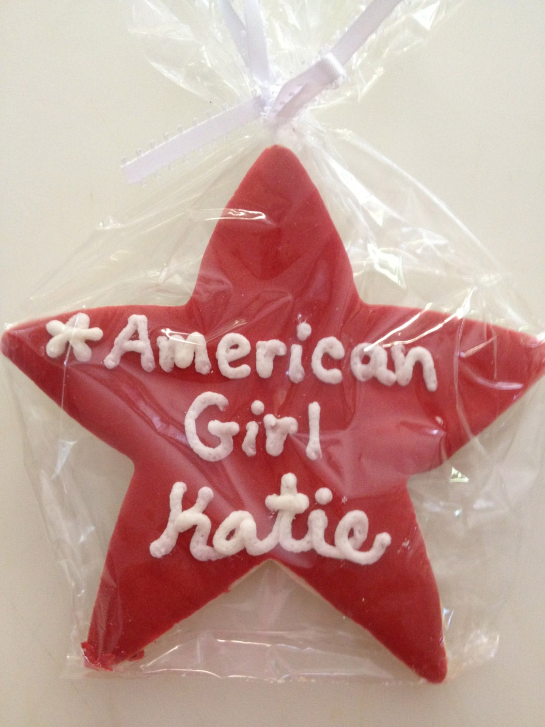 American Girl Star Cookie Favor or Personalize Any Star Cookie