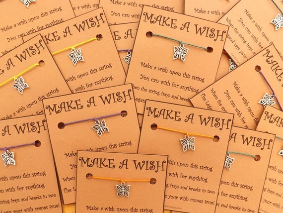 30 - 50 Any Charm or MIX of Wish Bracelets