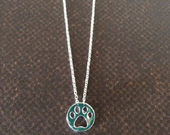 SALE - CLEARANCE - Dog Paw Necklace - Cat Paw Necklace - Paw Print Necklace - Paw Necklace - Animal Print Jewelry - Dog Lover Gift - Pet