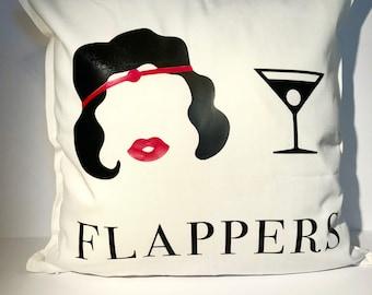 Roaring 20s Decor | Decorative Pillow | Great Gatsby
