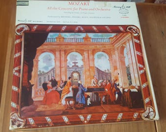 Mozart: All the Concerti for Piano and Orchestra 12 Record Box Set Murray Hill Records S 3906