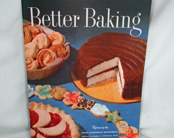 Vintage Better Baking Pamphlet by Proctor & Gamble MINT