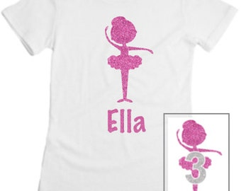 Personalized Ballerina Shirt