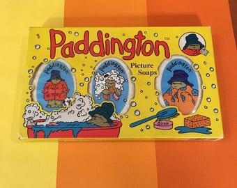 Vintage Picture Soaps Paddington Bear Paddington & Company Ltd 1994 Made in England