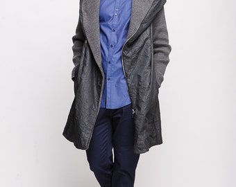 Spring Autumn Coat Denim